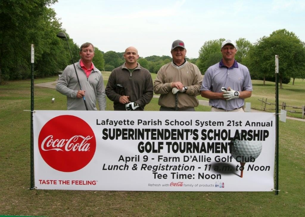 Supretendant's Scholarship Golf Tournament